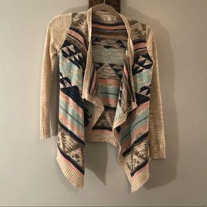 Long sleeve cardigan by Pink Republic, size Medium